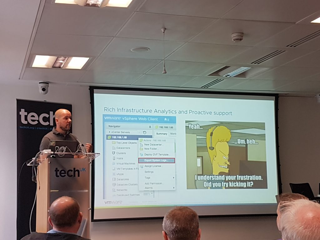 London VMUG June 2018 - Duncan Epping