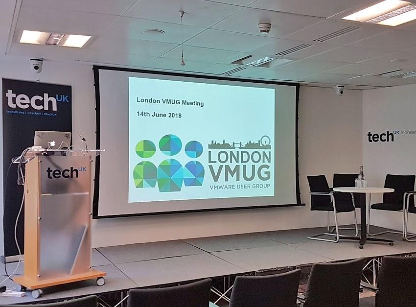 London VMUG June 2018