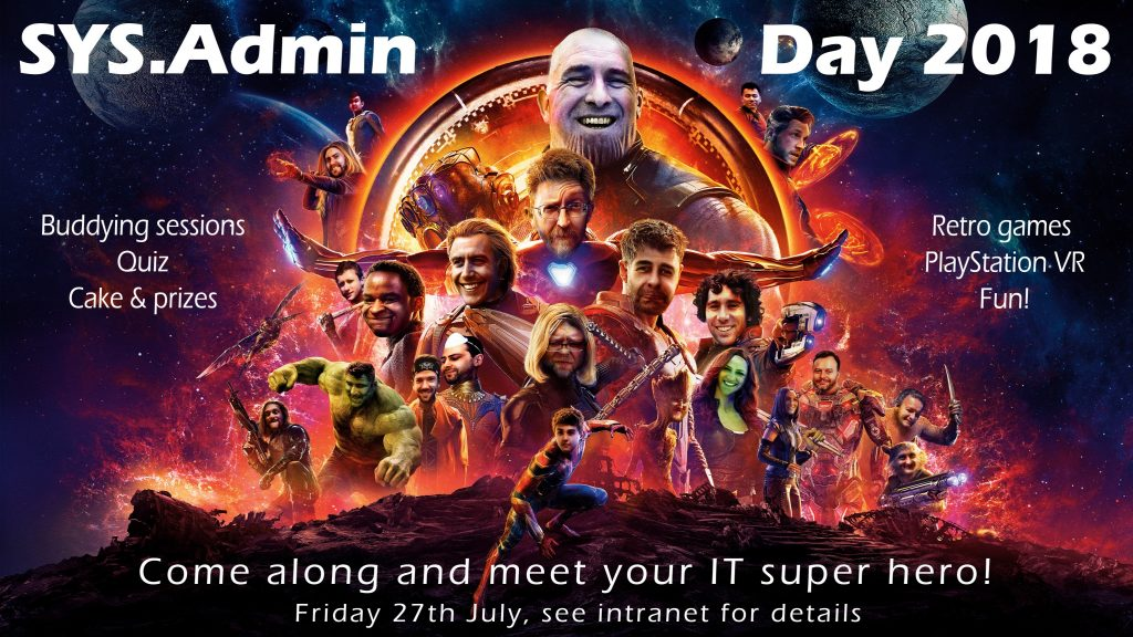 SysAdmin Day 2018