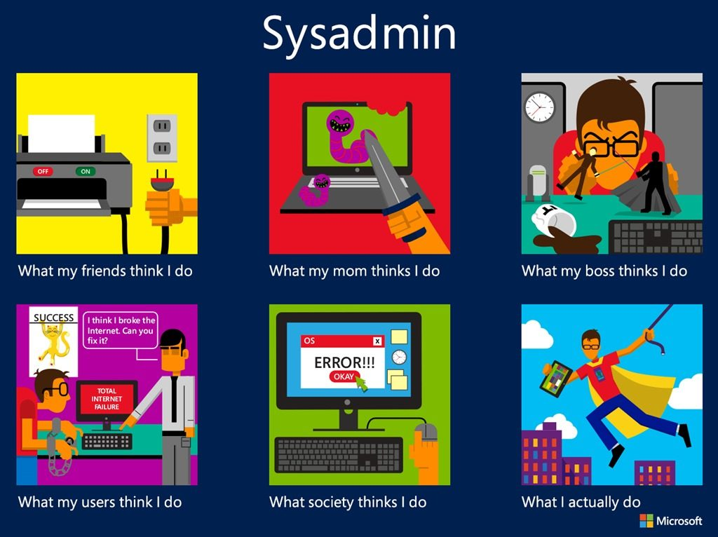 SysAdmin: aka, Tech Hero
