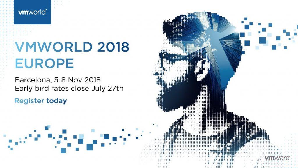 VMworld Europe 2018
