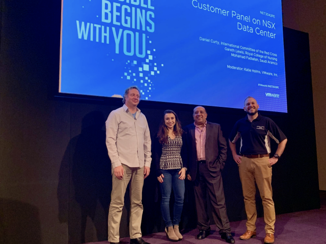 VMworld 2018 NSX Data Centre Panel - Members