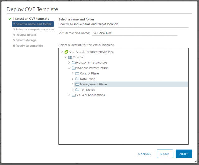 VMware NSX-T Data Center - Deploy Manager Appliance 102