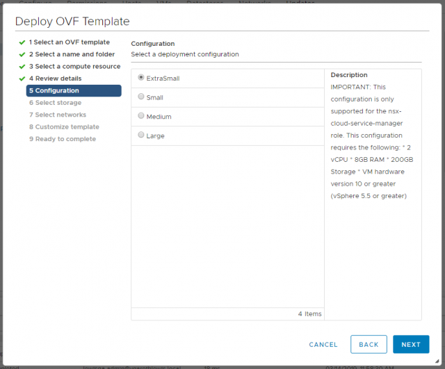 VMware NSX-T Data Center - Deploy Manager Appliance 105