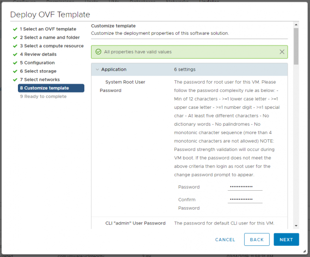VMware NSX-T Data Center - Deploy Manager Appliance 109