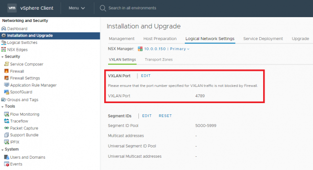 VMware NSX-T Data Center Migration - Part 2 - General Configuration