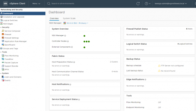 VMware NSX-T Data Center Migration - Part 2 - System State