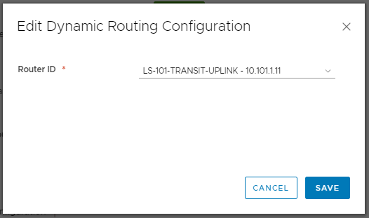 VMware NSX-V Dynamic Routing - OSPF - Distributed Logical Router (DLR) Configuration