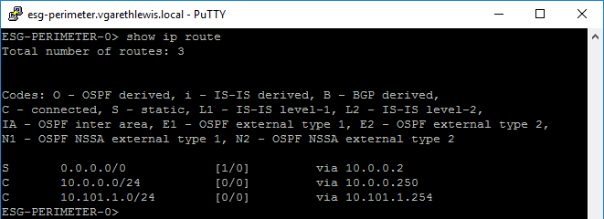 VMware-NSX-V-Dynamic-Routing-OSPF-Pre-show-ip-route