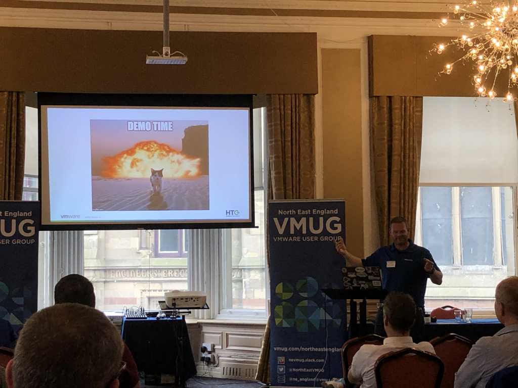 North East VMUG 2019 - Michael Armstrong