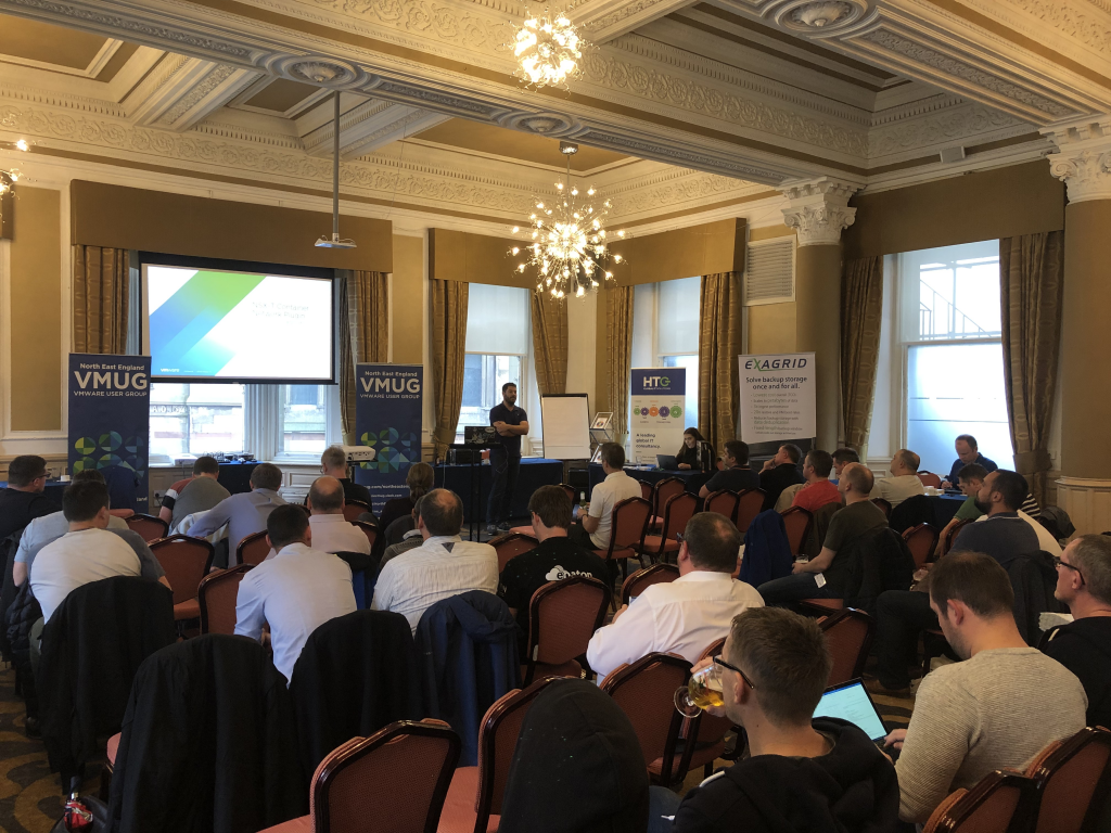 North East VMUG 2019 - Sam McGeown
