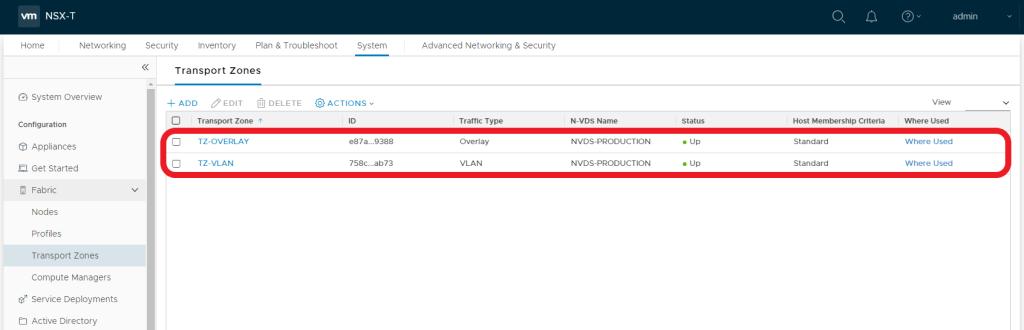 VMware NSX-T - Tier-1 Gateway - Multi-Tier Application - Prerequiste