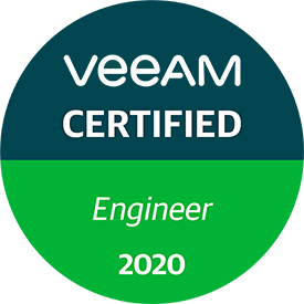 Veeam Certified Engineer 2020 (VMCE 2020)